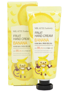 Крем для рук Fruit Hand Cream Banana, 60 г, Milatte