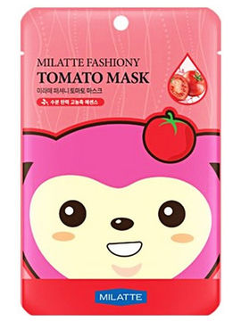 Маска тканевая Tomato Mask Sheet, Milatte