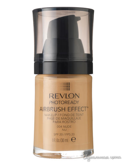 Тональный крем Photoready Airbrush Effect Makeup REVLON, цвет nude 004