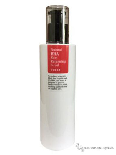 Тонер с BHA кислотами Natural BHA Skin Returning A-Sol, 100 мл COSRX